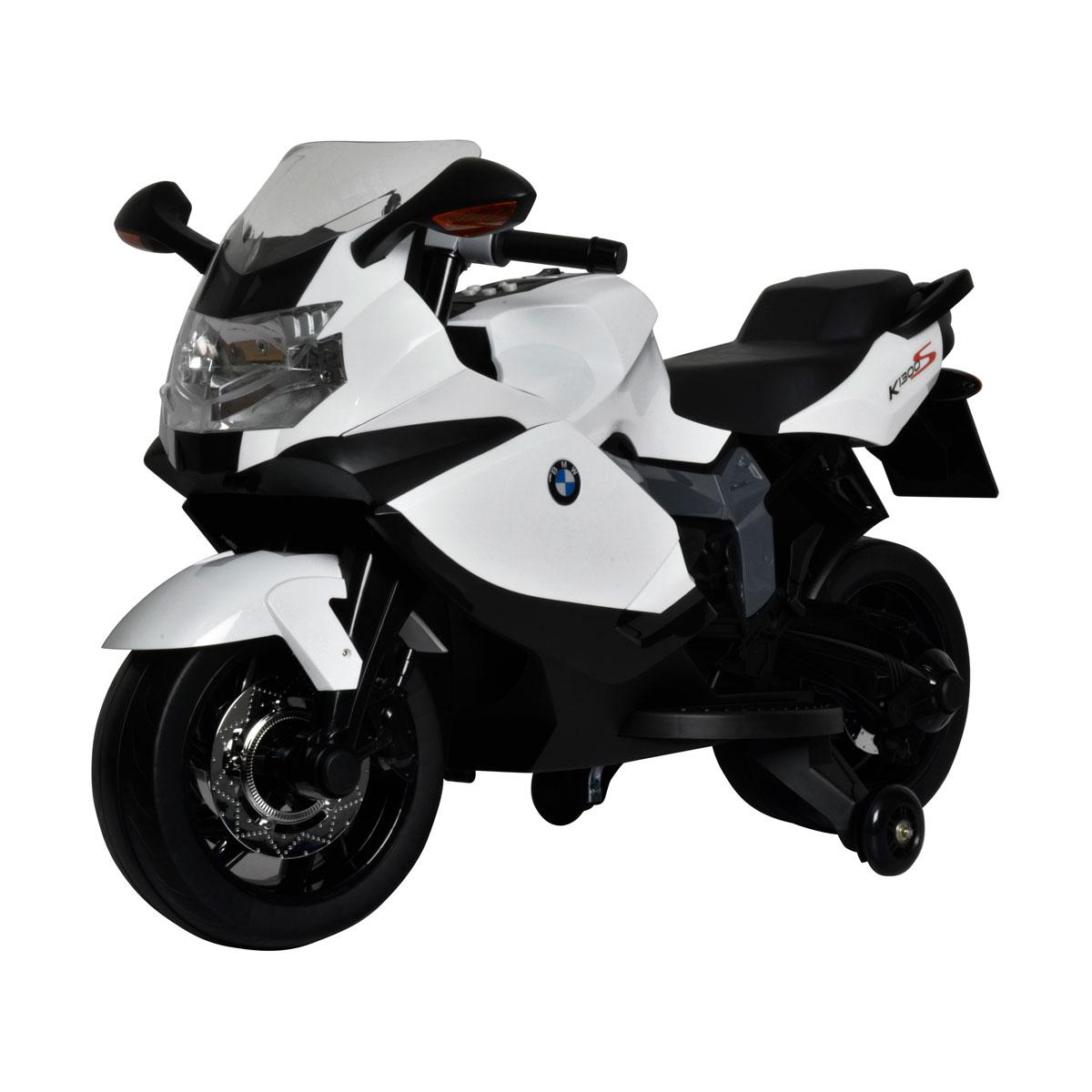 Electric Motorbike Bmw K1300 White Bec 6010 Buddy Toys